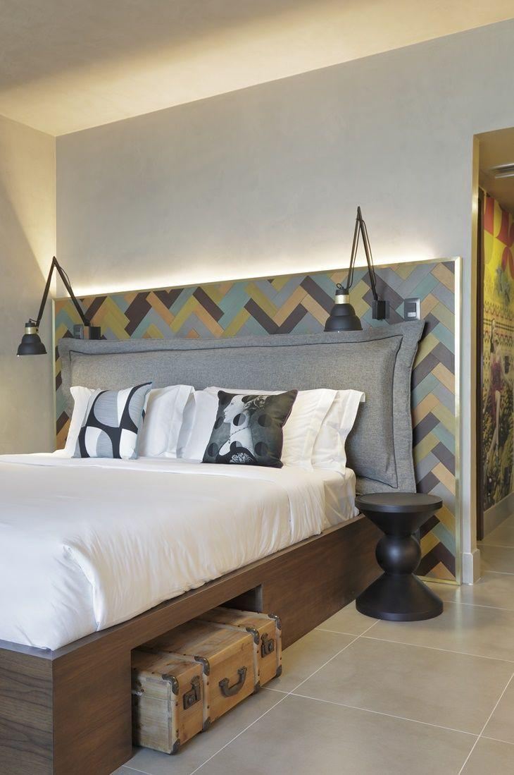 Upholstered headboard: 60 ideas and references to use in decor 1