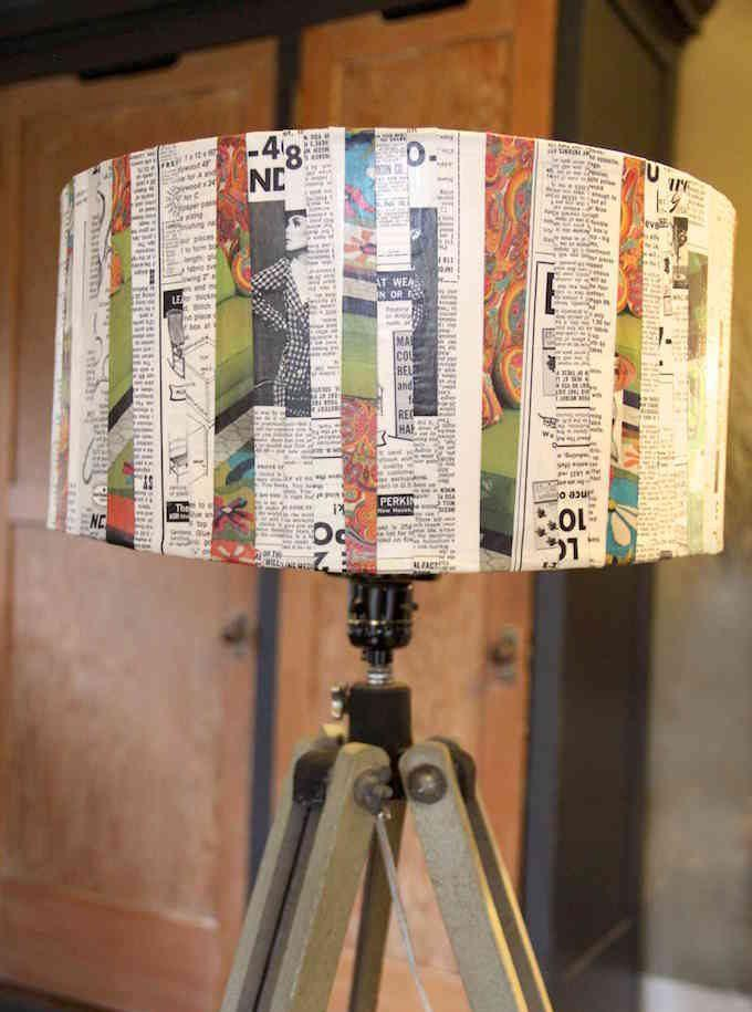 Lamp-light-with-newspaper-1