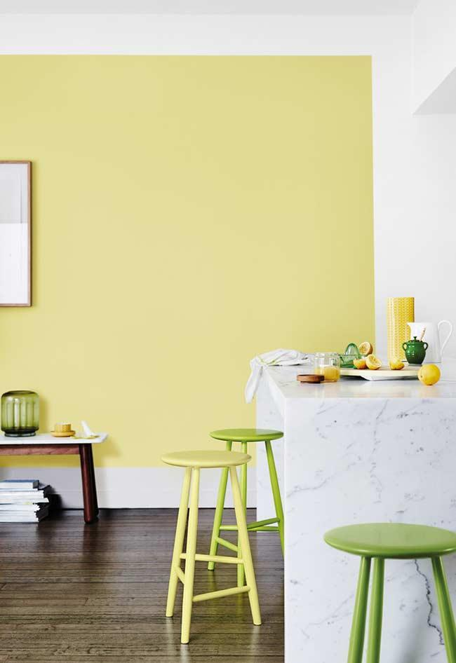 Light yellow and lime green