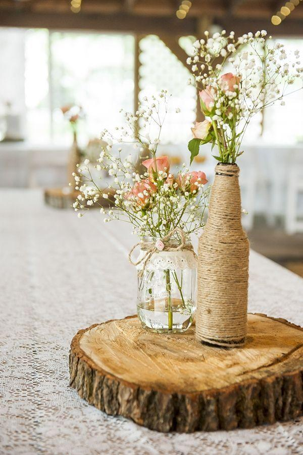 Table Top with Bottle: see beautiful ideas to decorate the table 15