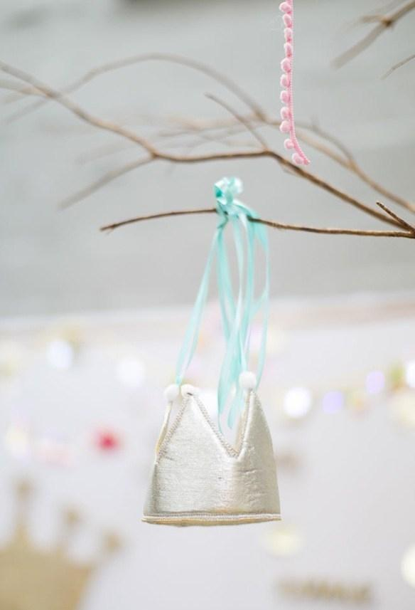 Minimalist decoration for princess party