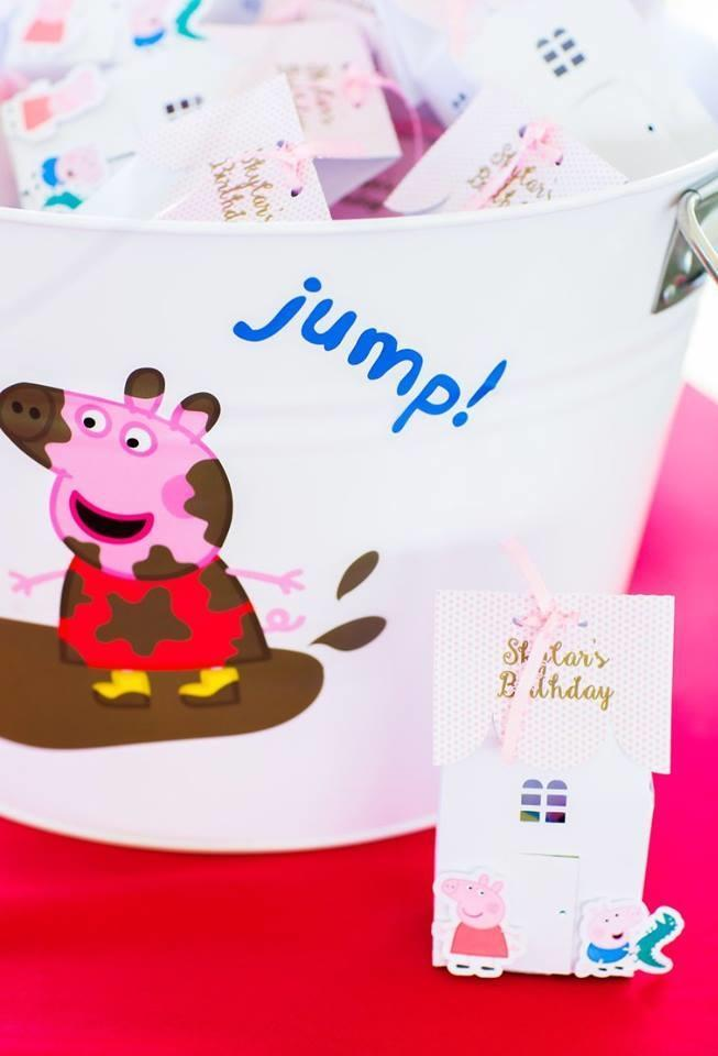 Peppa Pig Souvenirs: 50 decorating ideas and step by step 29