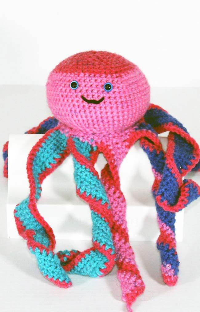 Happy Crochet Octopus