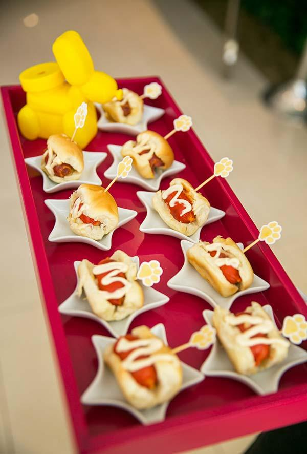 Thematic Meals for a Party of the Dog Patrol