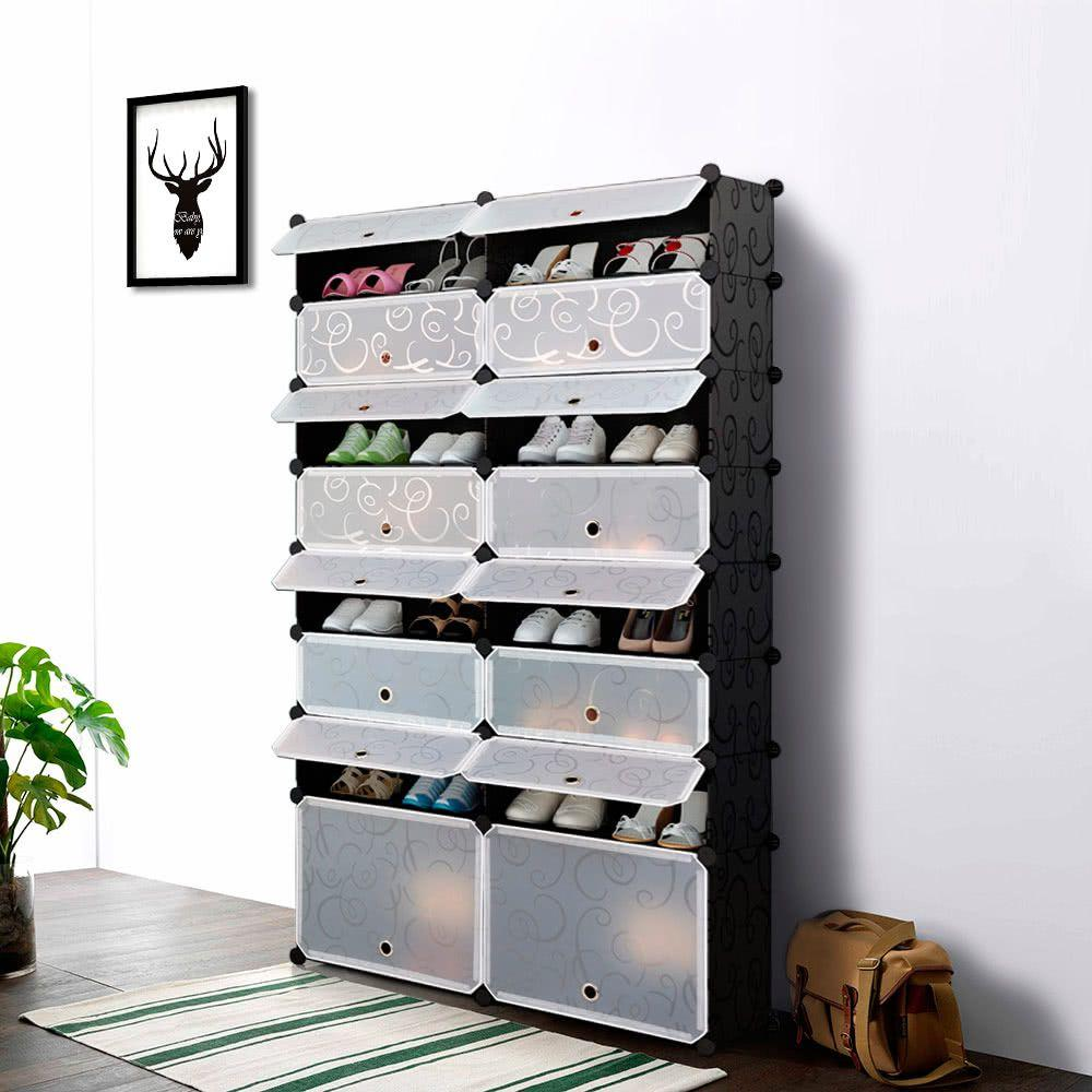 60 ideas and tips on how to organize shoes 47
