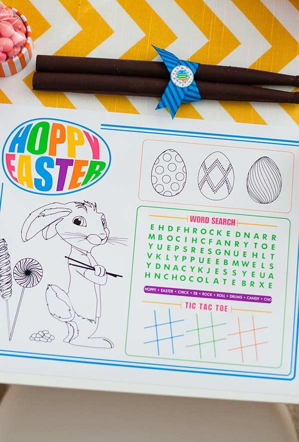 Activity for Easter: paint your own eggs