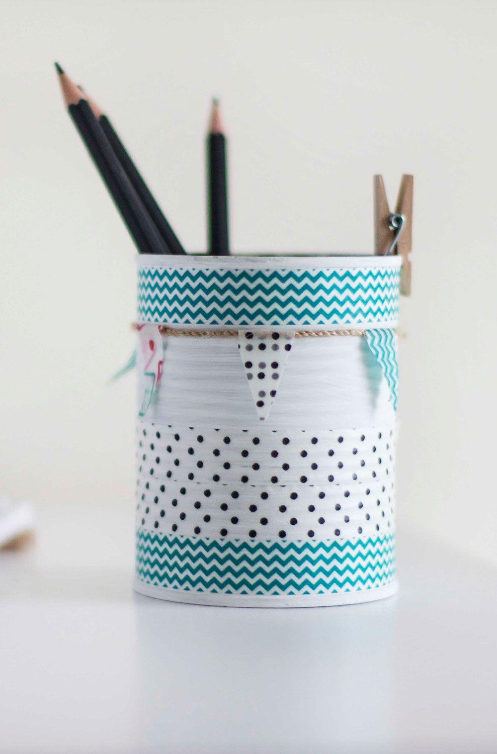 Decorated Cans: 70 Cool Ideas to Do at Home 54
