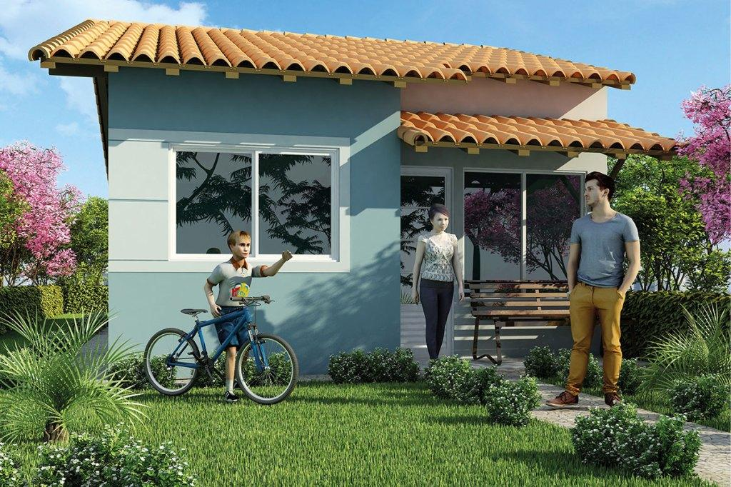Colors of houses: trends and photos for exterior painting 11