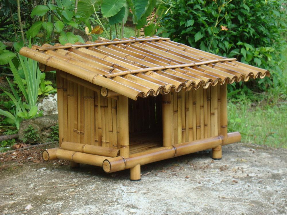 Bamboo Crafts: 60 models, photos and step by step DIY 28