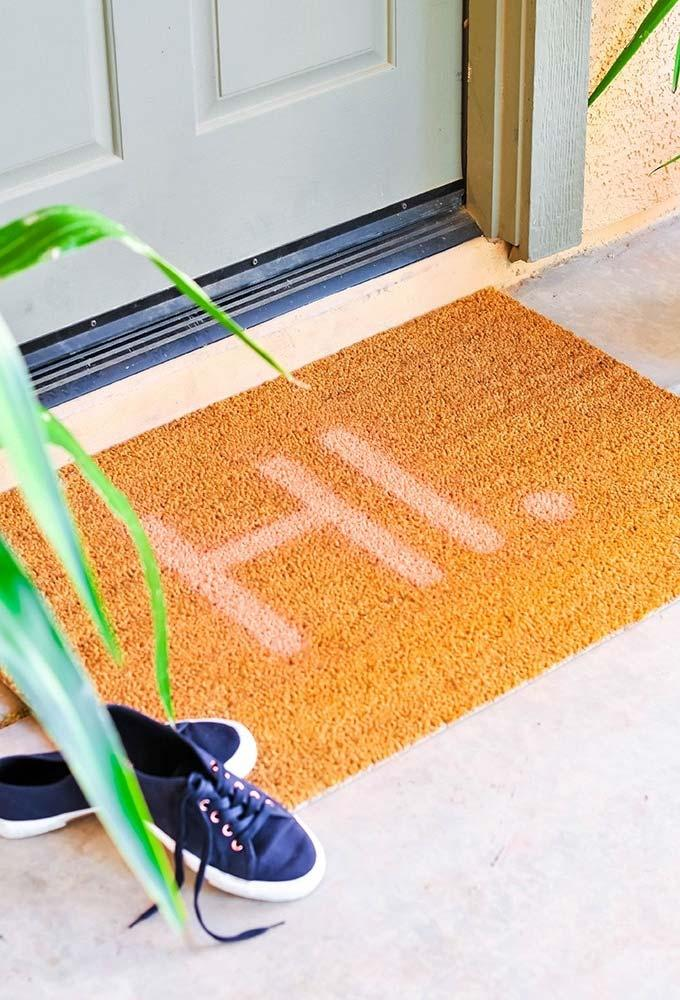 Fun doormats: welcome to brighten up your home 4