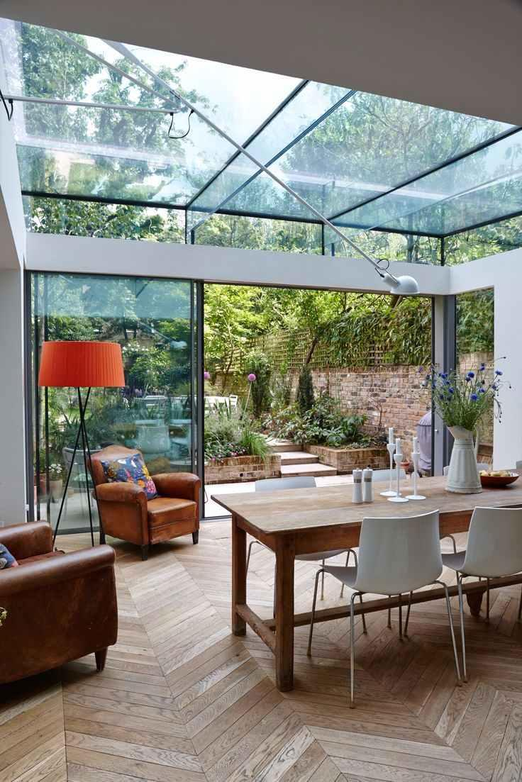 Glass roof: advantages, 60 photos and ideas to be inspired 4
