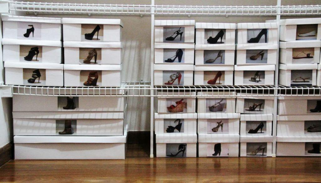 60 ideas and tips on how to organize shoes 55