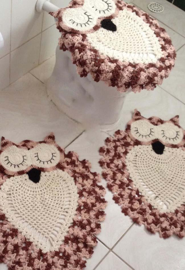 Crocheted Owl Carpets