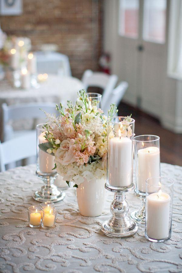 Wedding arrangements: 70 ideas for table, flowers and decoration 13