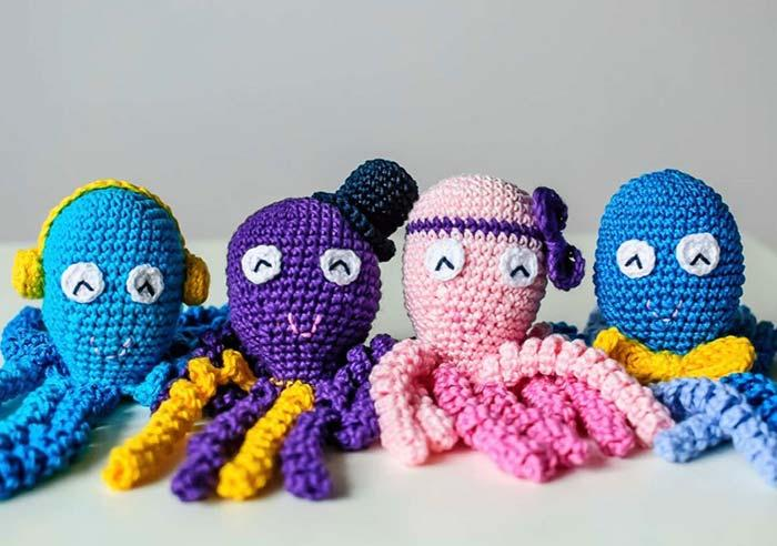 An octopus for each style