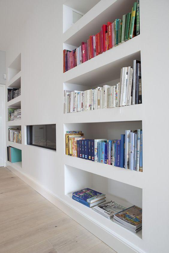Plaster shelf: advantages and 60 projects to inspire 13