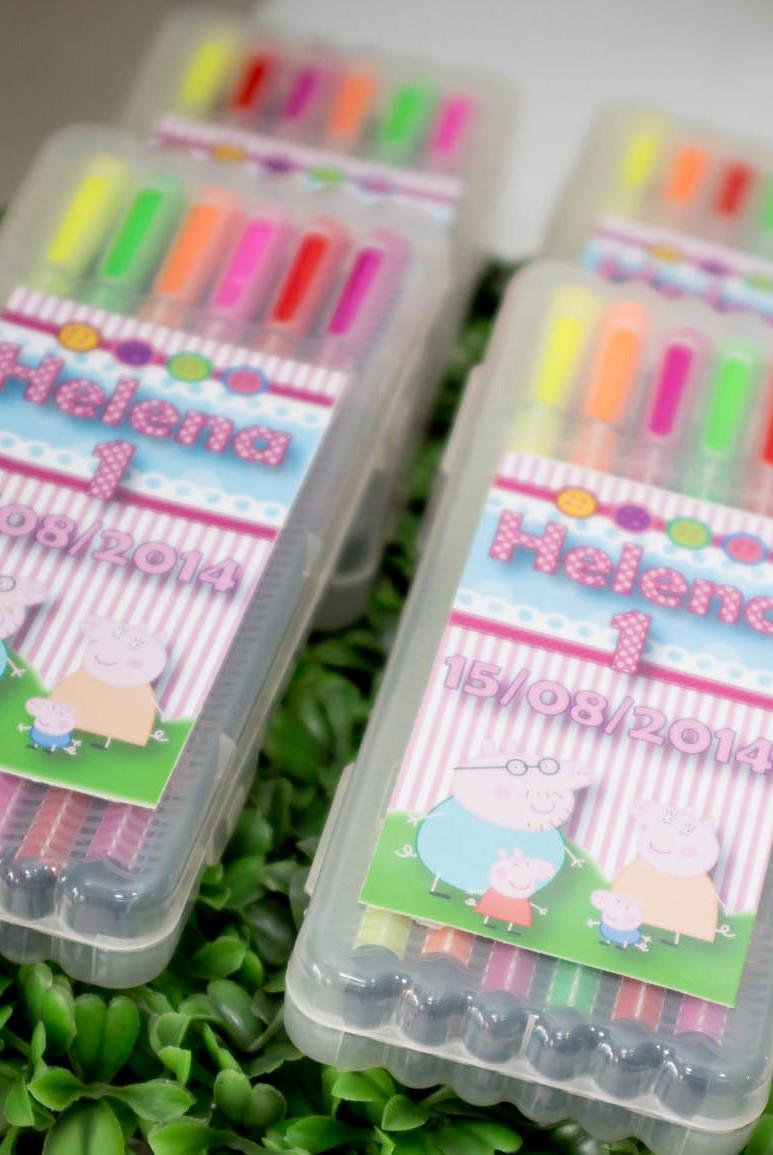 Peppa Pig Souvenirs: 50 decorating ideas and step by step 47