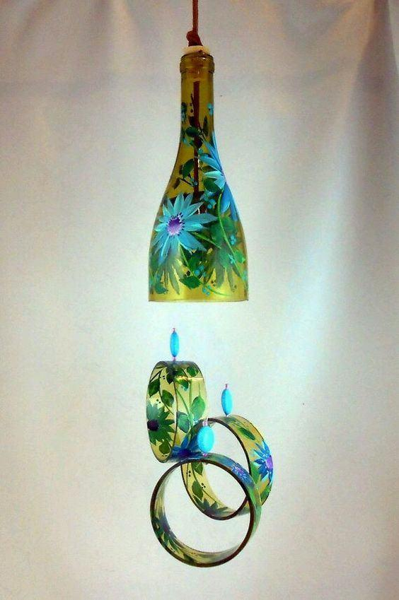 Glass Bottle Craft: 80 Awesome Tips and Photos 48