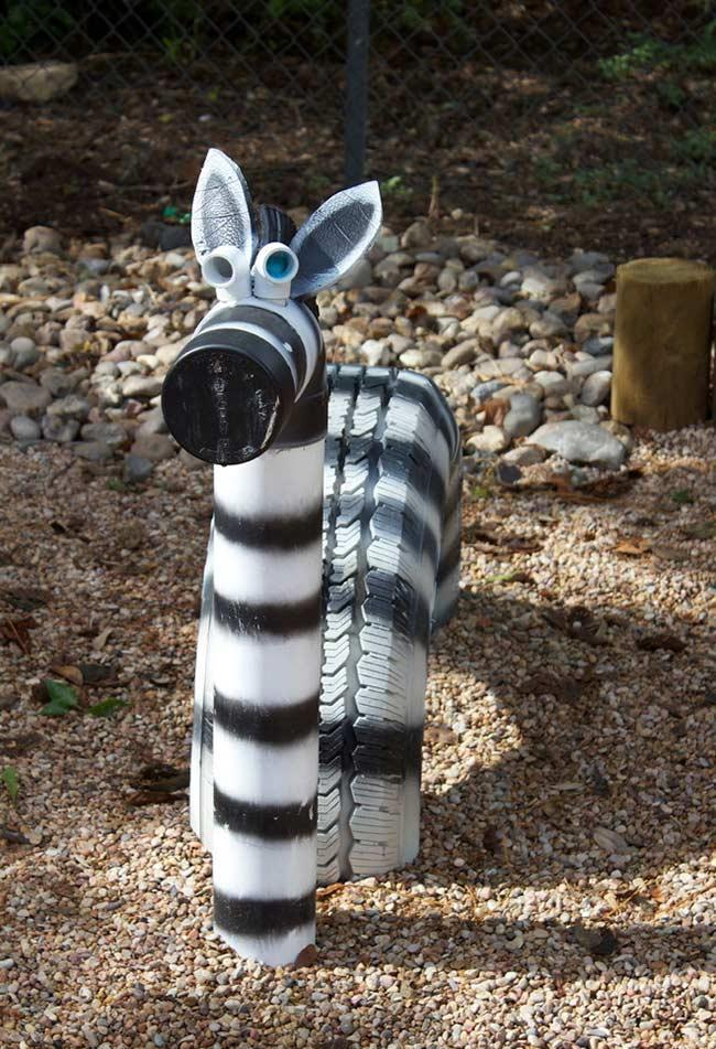 Tire Crafts: 65 ideas and photos to inspire your creation 16