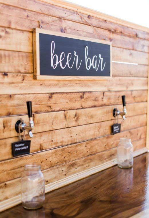 Beer to serve yourself at will