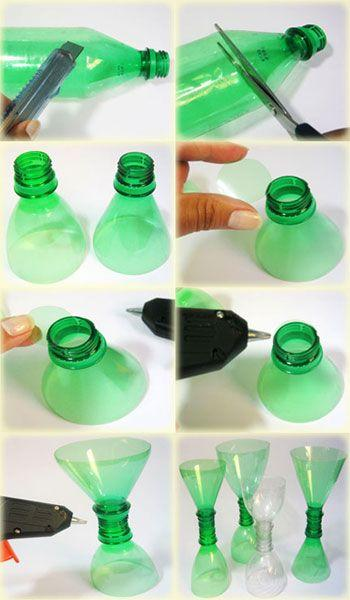 Christmas ornaments with PET bottle: 50 ideas to use in the decoration
