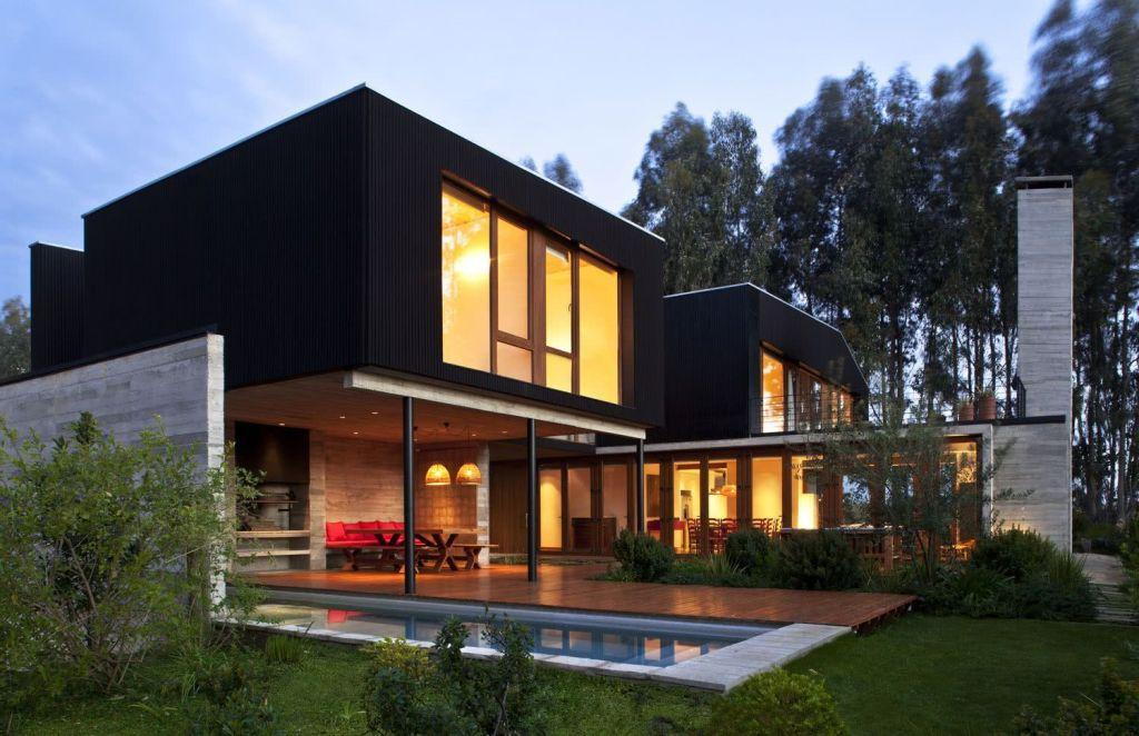 Houses with American style: 65 projects inside and out 12
