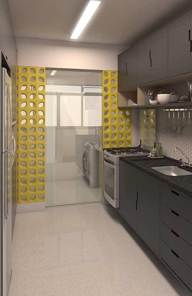 Cobogos: 60 ideas to insert leaked elements in the decoration 14
