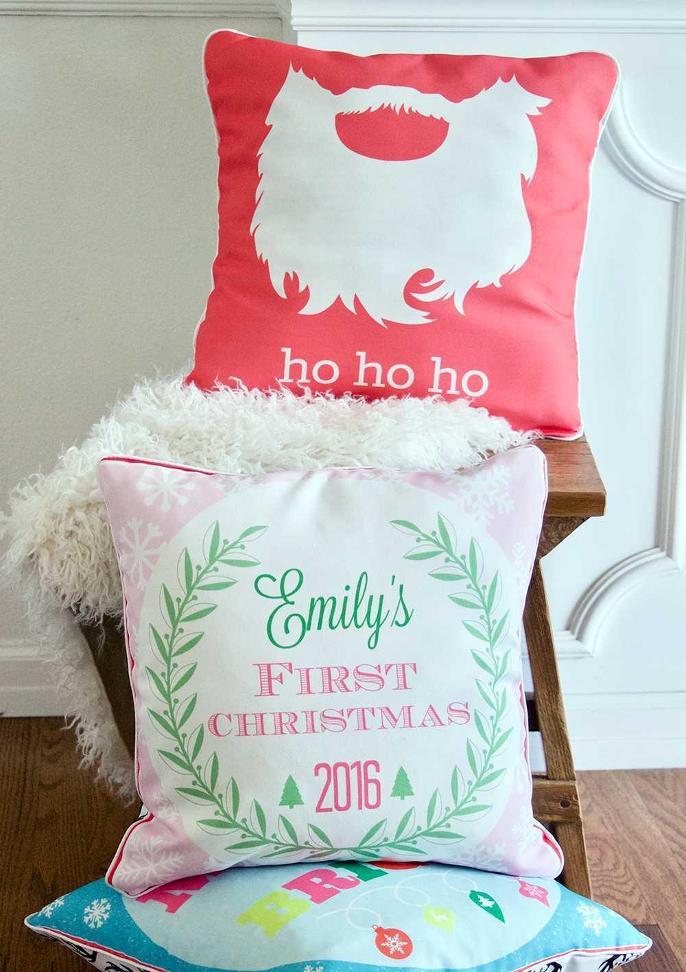 Christmas Cushions: 60 Decorating Ideas and How to Make 49