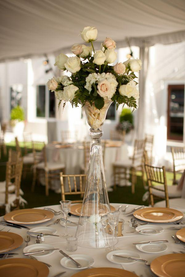 Wedding arrangements: 70 ideas for table, flowers and decoration 12