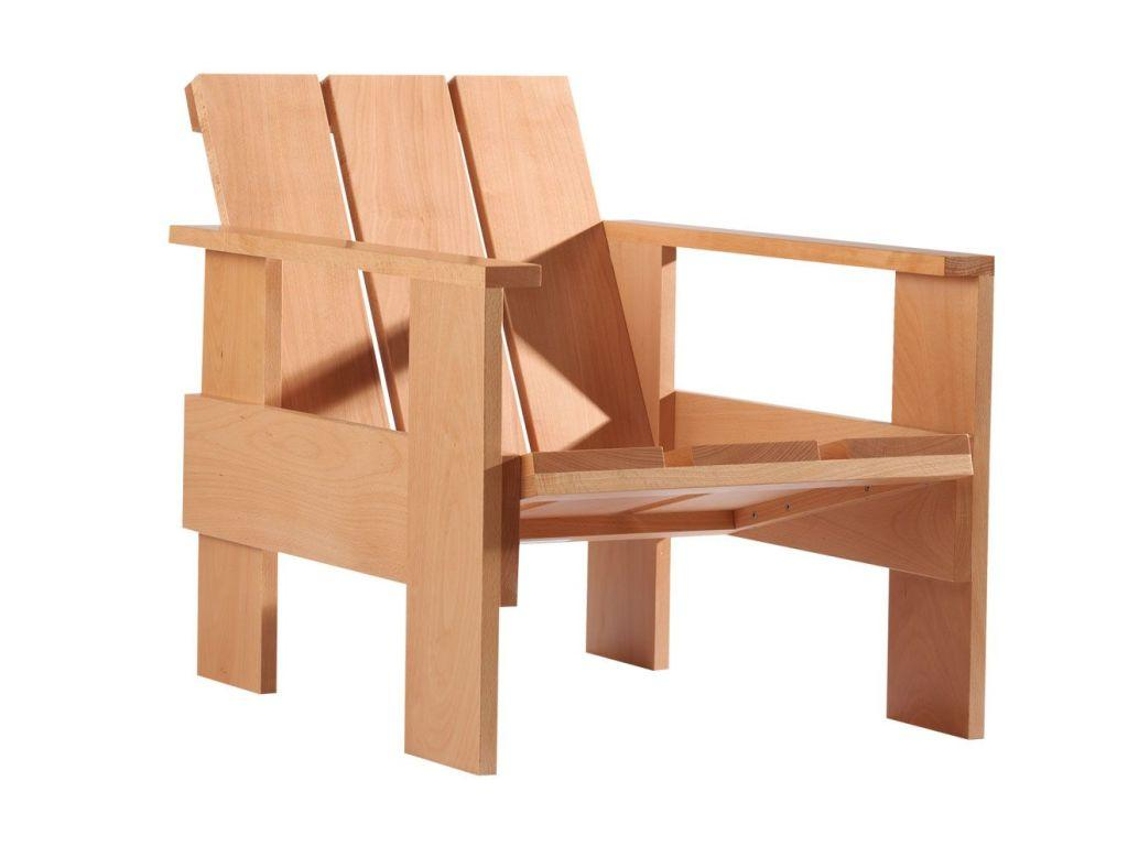 Treated pallet armchair