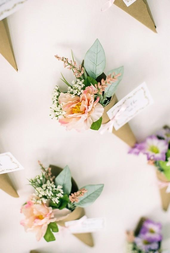 Flower Straws at the Wedding 2018