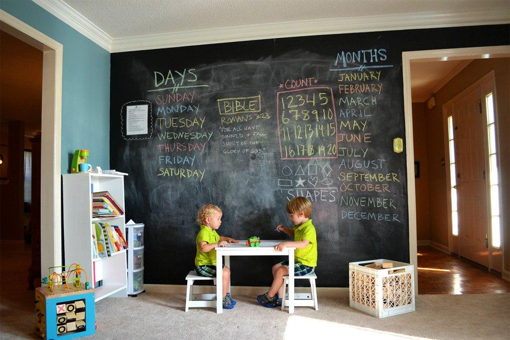 Wall board: 84 ideas, photos and how to do step by step 32