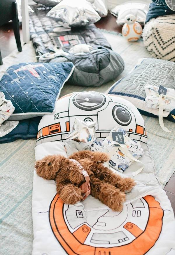 Star Wars theme pajama party