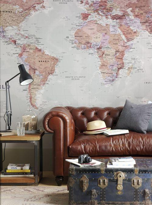 Leather sofa: 70 amazing models to decorate environments