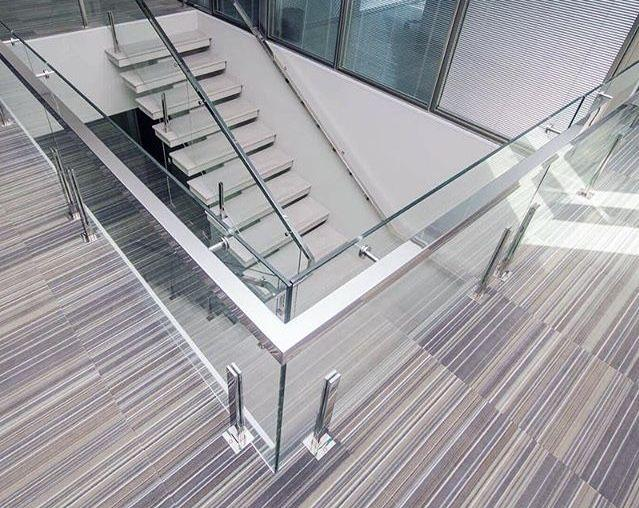 Stainless steel handrail: see tips and 60 models with photos 57