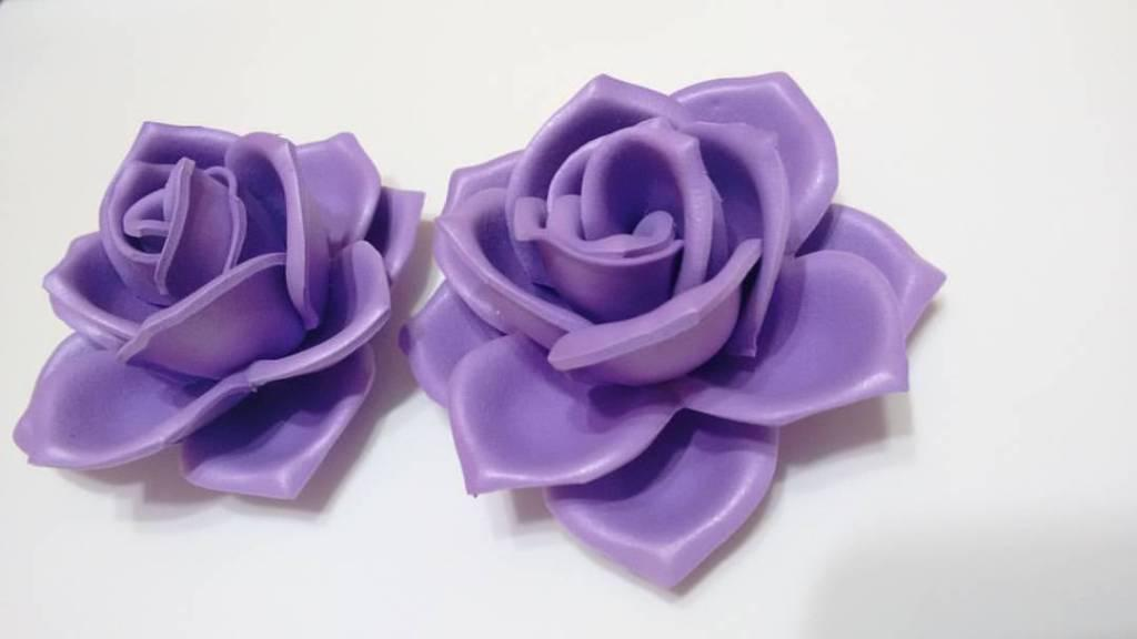 EVA Flowers: 70 ideas, templates and step by step 14