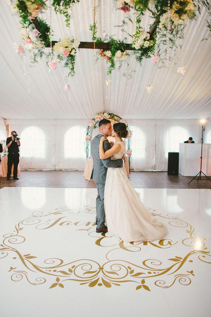 Wedding decoration 2018 with dance floor