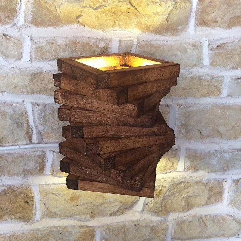 Rustic luminaire: 72 different models to be inspired 6