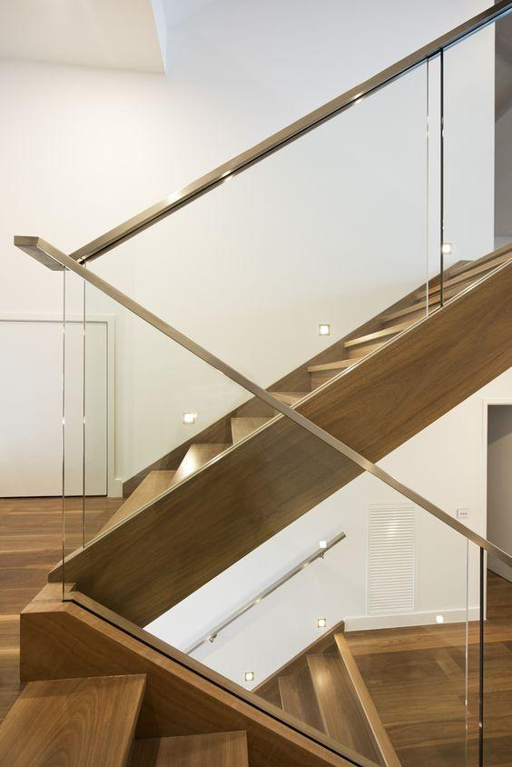 Stainless steel handrail: see tips and 60 models with photos 14