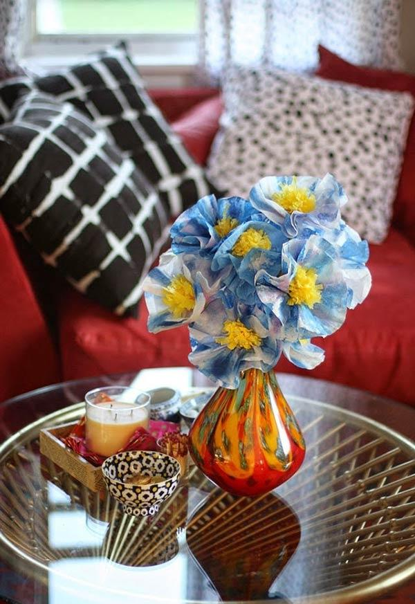 Coffee Filter Crafts: 60 Ideas to Be Inspired 13