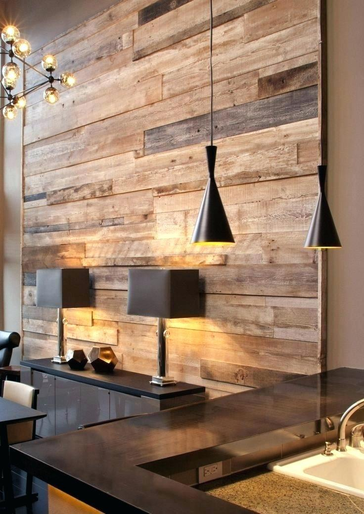 Elegant decoration with pallet wall