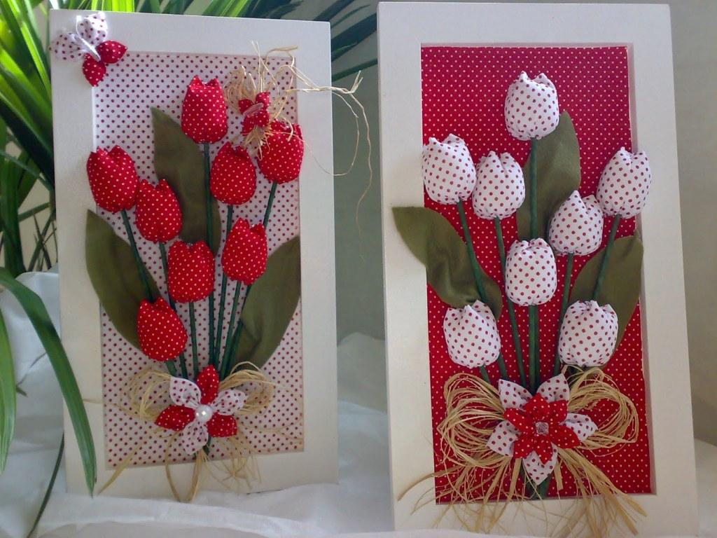 How to make handmade pictures: models, photos and step-by-step 34