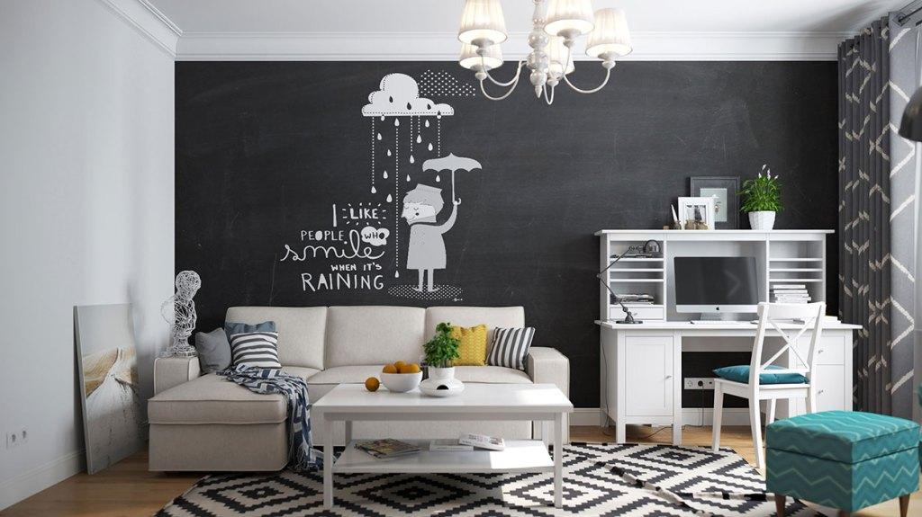 Wall board: 84 ideas, photos and how to do step by step 77