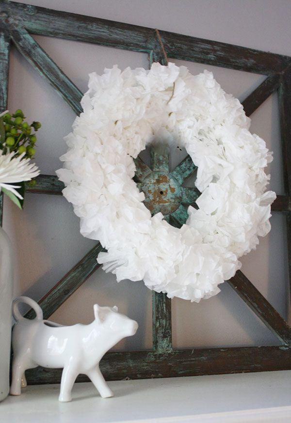 Garland with coffee filter