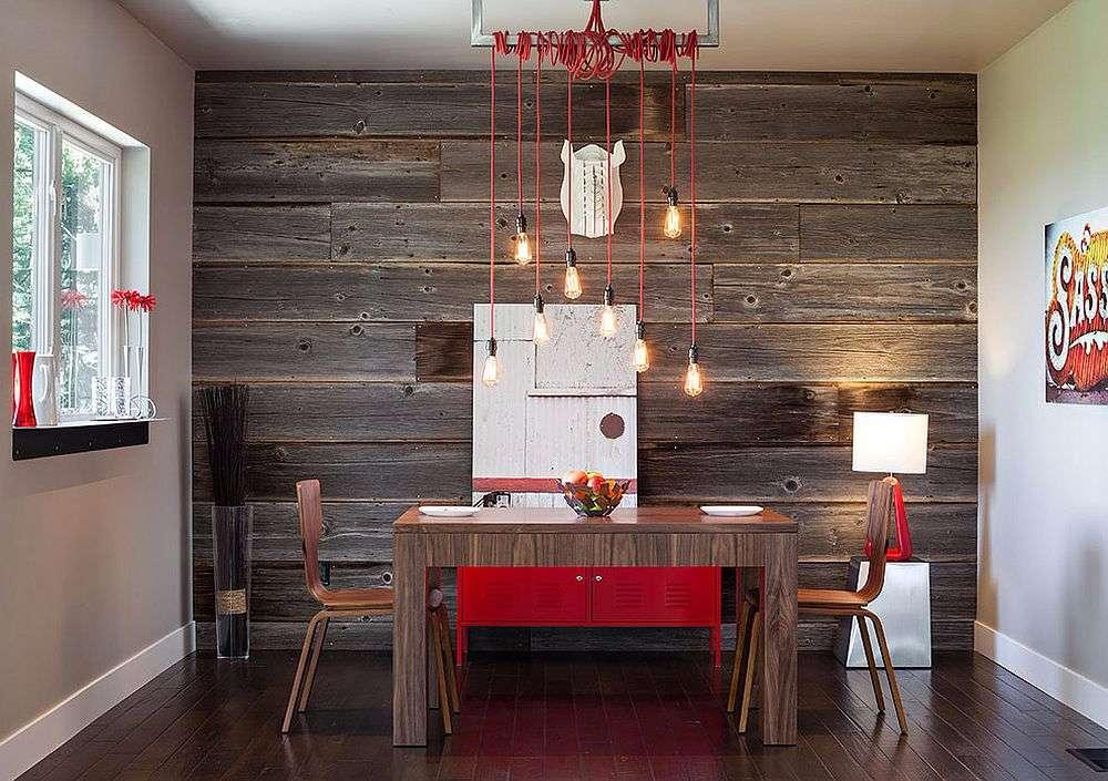 Wooden Wall: 56 Wonderful Ideas and How to Make It 14