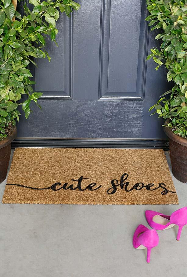 Fun doormats: welcome to brighten your home 9