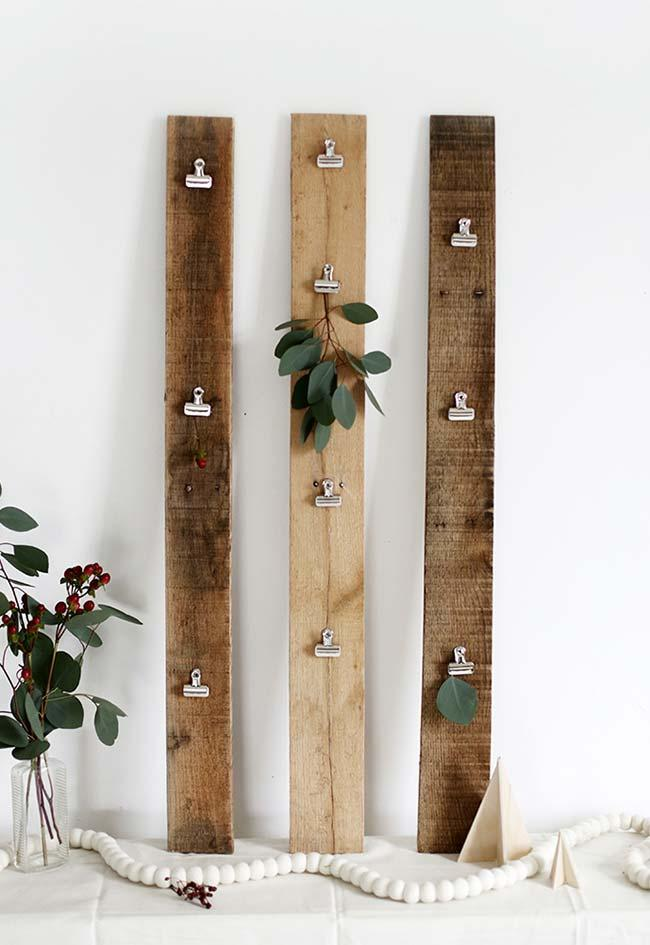 Make your own wedding decoration: for the guests to hang your messages and congratulations