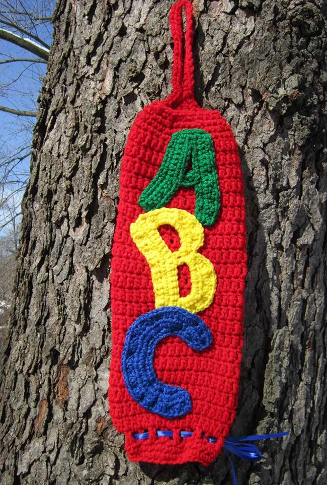 Pulling crochet bag: 60 models, ideas and step by step 50