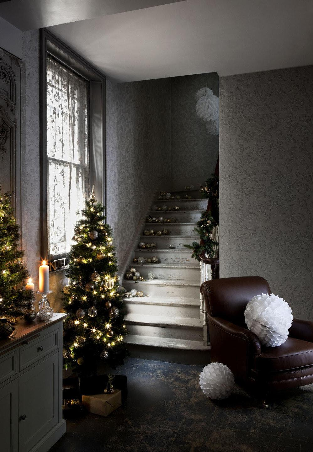 Simple and inexpensive Christmas decoration: 60 perfect ideas to inspire 49