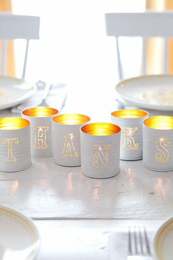 Cans decorated: 70 cool ideas to make at home 66